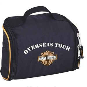 Harley-Davidson Deluxe Fabric Toiletry Bag - Overs